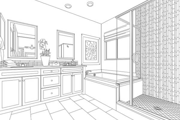 Bathroom remodeling plans