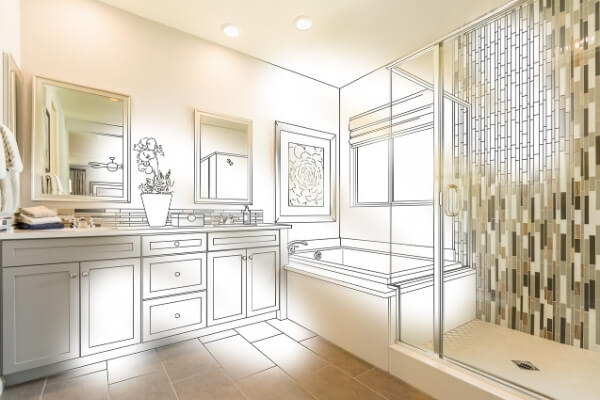Bathroom remodeling color and tiles