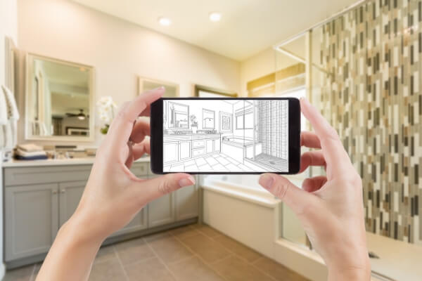 Bathroom Remodeling digital plans